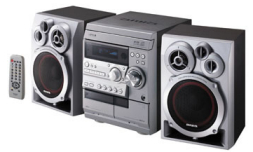 Camry International Aiwa Mini Hi Fi System Nsx R30